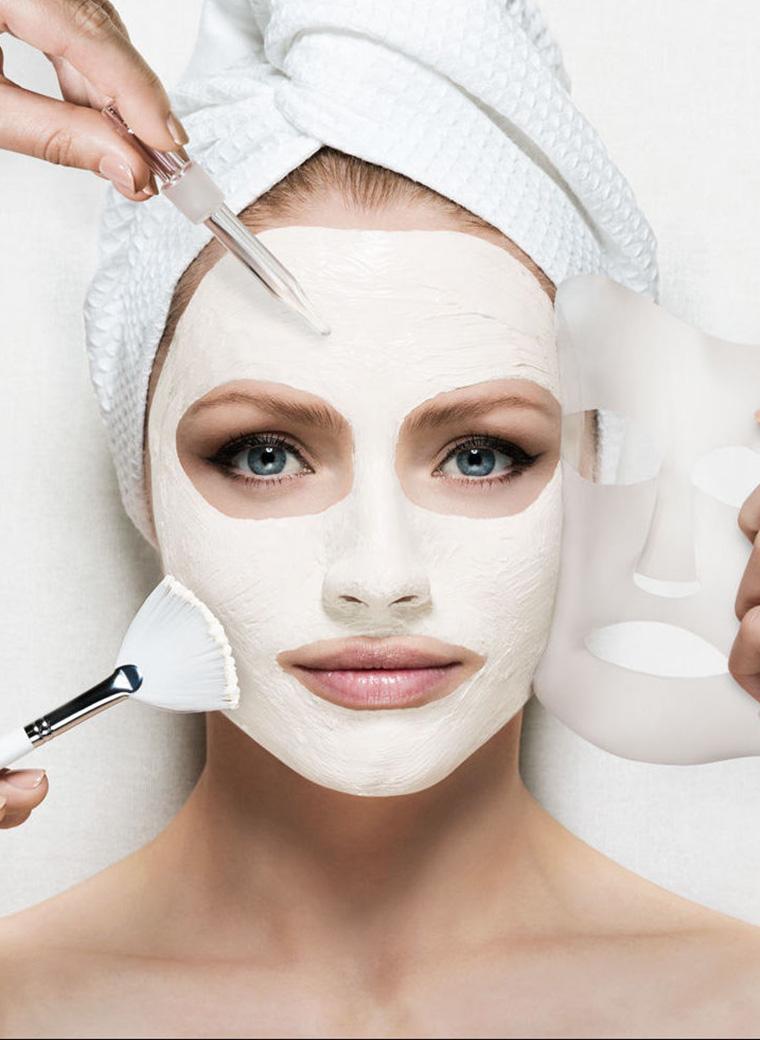 Facial treatment in Menorca
