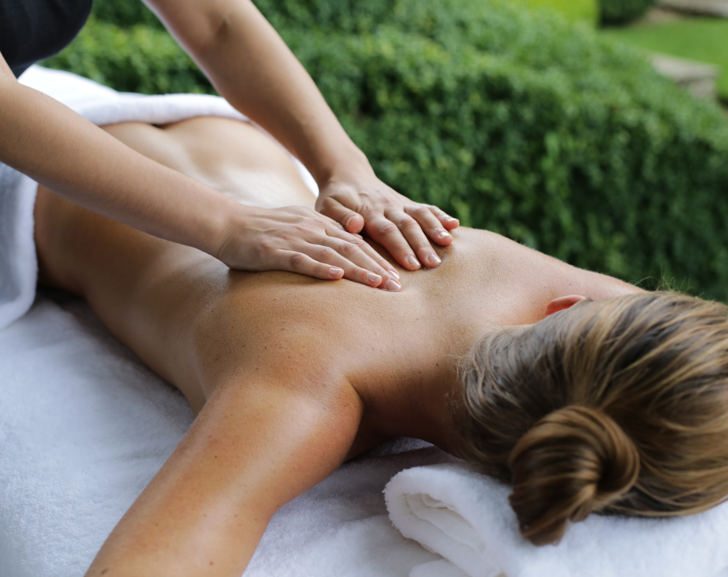 Muscle relief massage