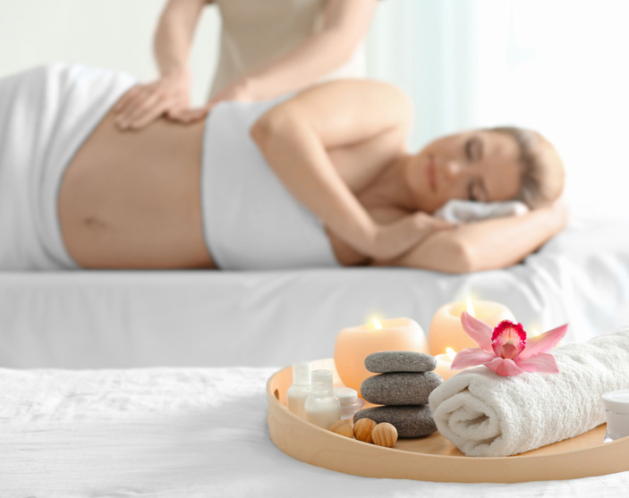 Pregnancy massage - hotel visit